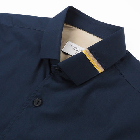 ETON COLLAR SHIRT - NAVY