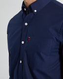 FLAG OXFORD SHIRT - NAVY