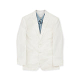 ITALIAN WOOL SUIT - WHITE
