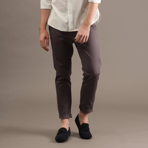 MATT CHINO PANTS-GREY