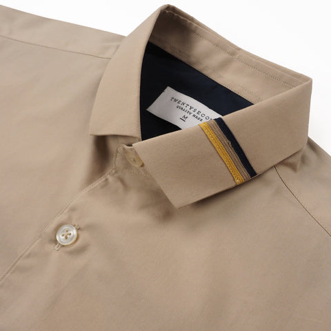 ETON COLLAR SHIRT - KHAKI