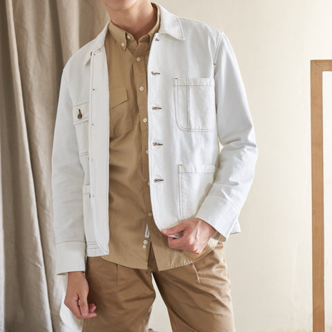 WORK JACKET - WHITE