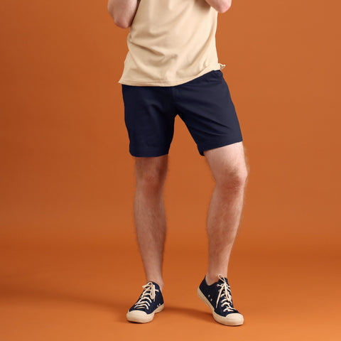 MATT NAVY BLUE SHORTS - EXTRA CHINO SHORTS