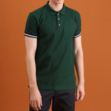 FLIP POLO TEES - GREEN