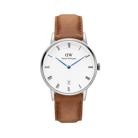 Dapper Reading 34mm Silver