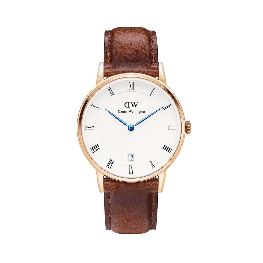 Dapper St. Mawes 34mm Rose gold