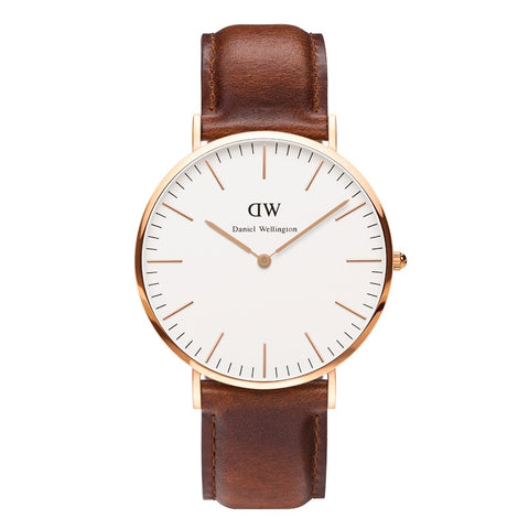 Classic Winchester 36mm Rose gold