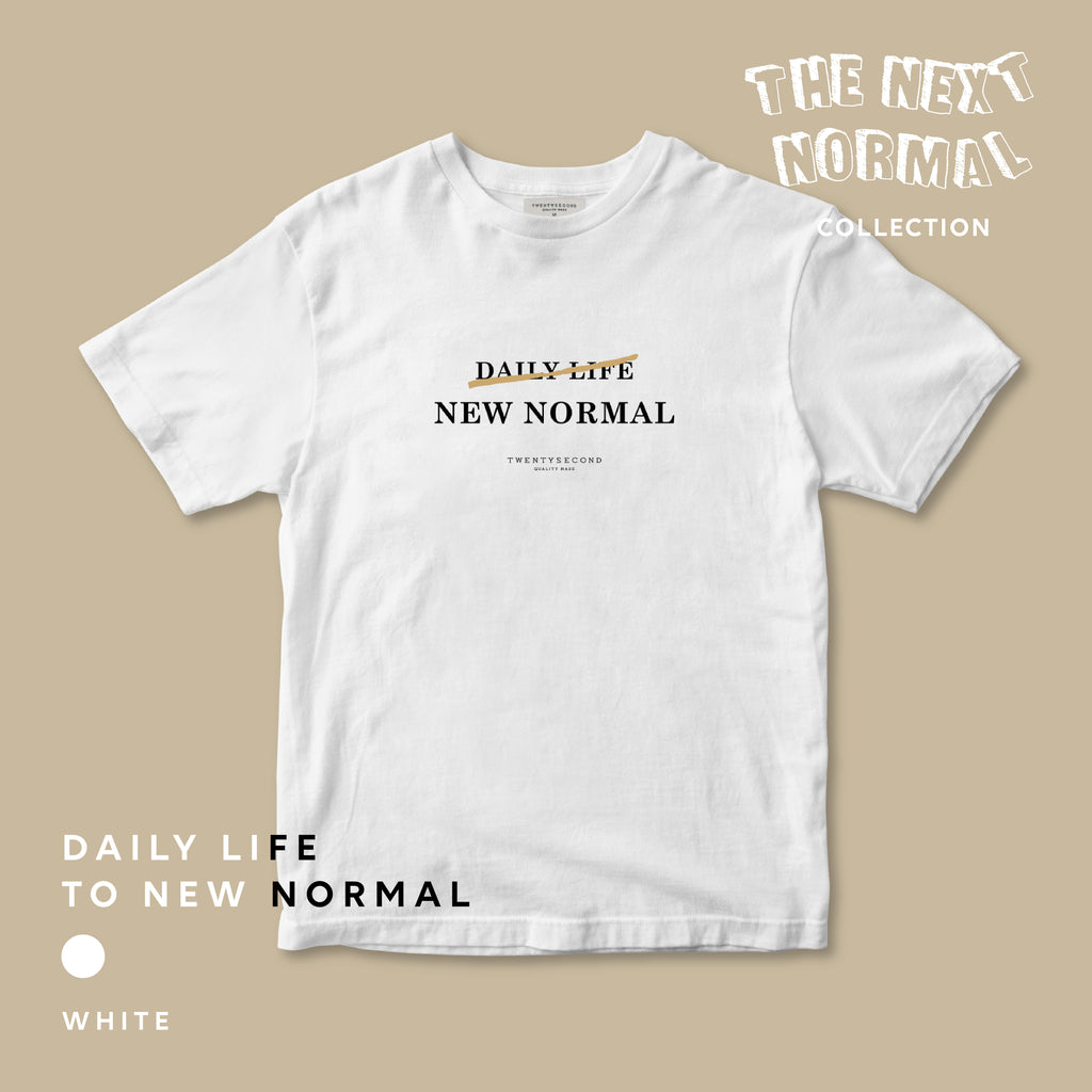 THE NEXT NORMAL #1 DAILY LIFE - WHITE