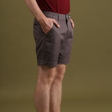 MATT DARK GREY SHORTS - EXTRA CHINO SHORTS