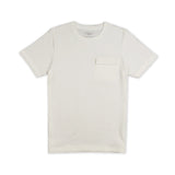 LAYER POCKET TEE - WHITE