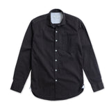 WEEKEND CHAMBRAY SHIRT - BLACK