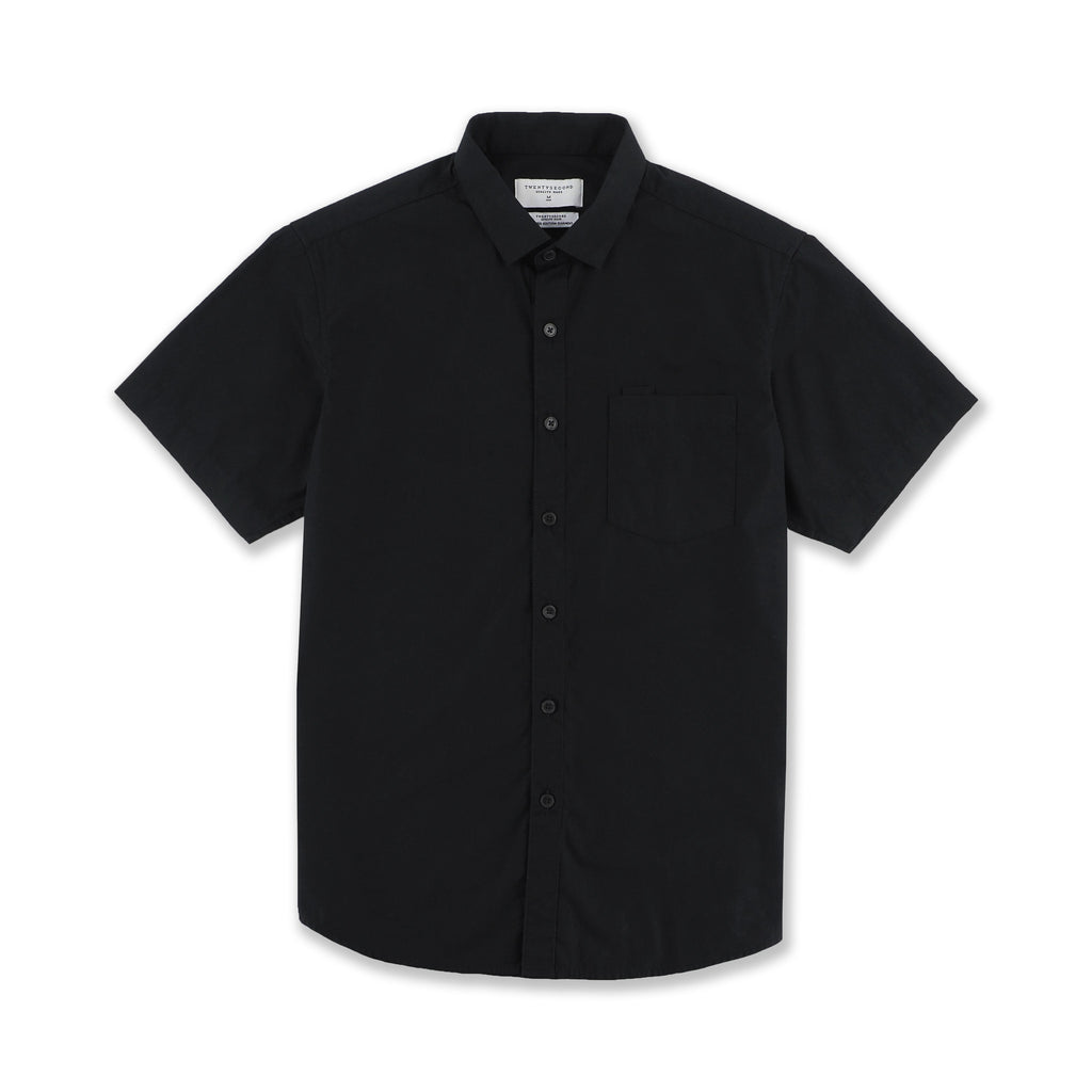 BASIC SHORT SLEEVES - BLACK