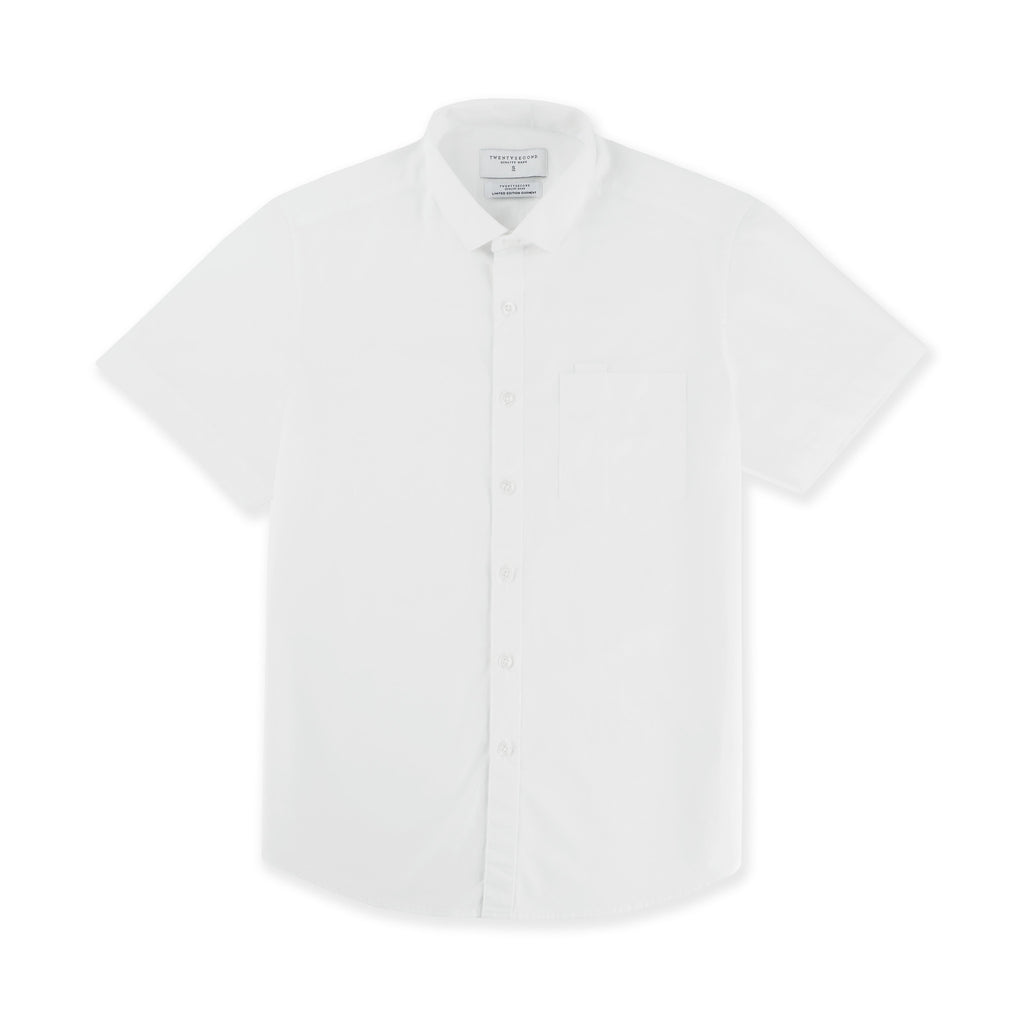 BASIC SHORT SLEEVES - WHITE