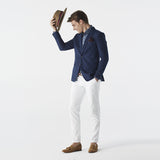 ITALIAN WOOL SUIT - NAVY