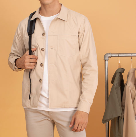 BOARD JACKET-BEIGE