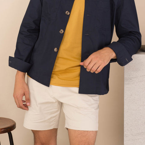 BOARD JACKET-NAVY