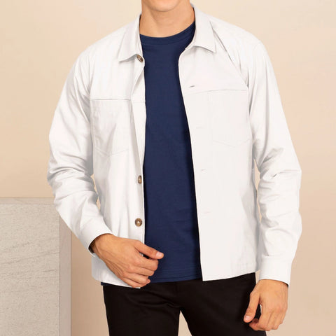 BOARD JACKET-WHITE