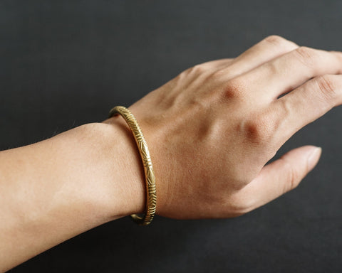 Native Cuff - Solid Brass