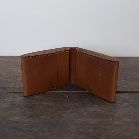Stitchless wallet - Bark color