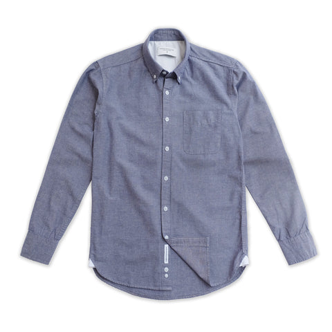 WEEKEND CHAMBRAY SHIRT - GREY