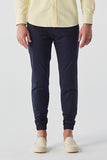 Navy twill Jogger pants