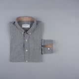 CASUAL OXFORD SHIRT - GREY