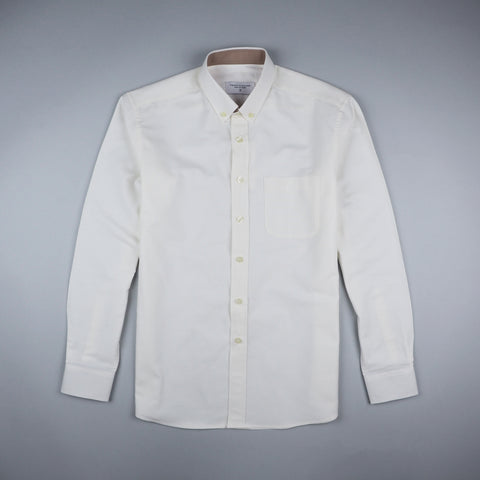 CASUAL OXFORD SHIRT - WHITE