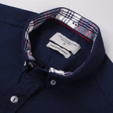 BRIT OXFORD DETACHABLE-NAVY BLUE