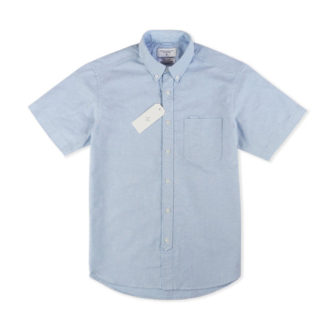 OXFORD SHORT SLEEVES - BLUE