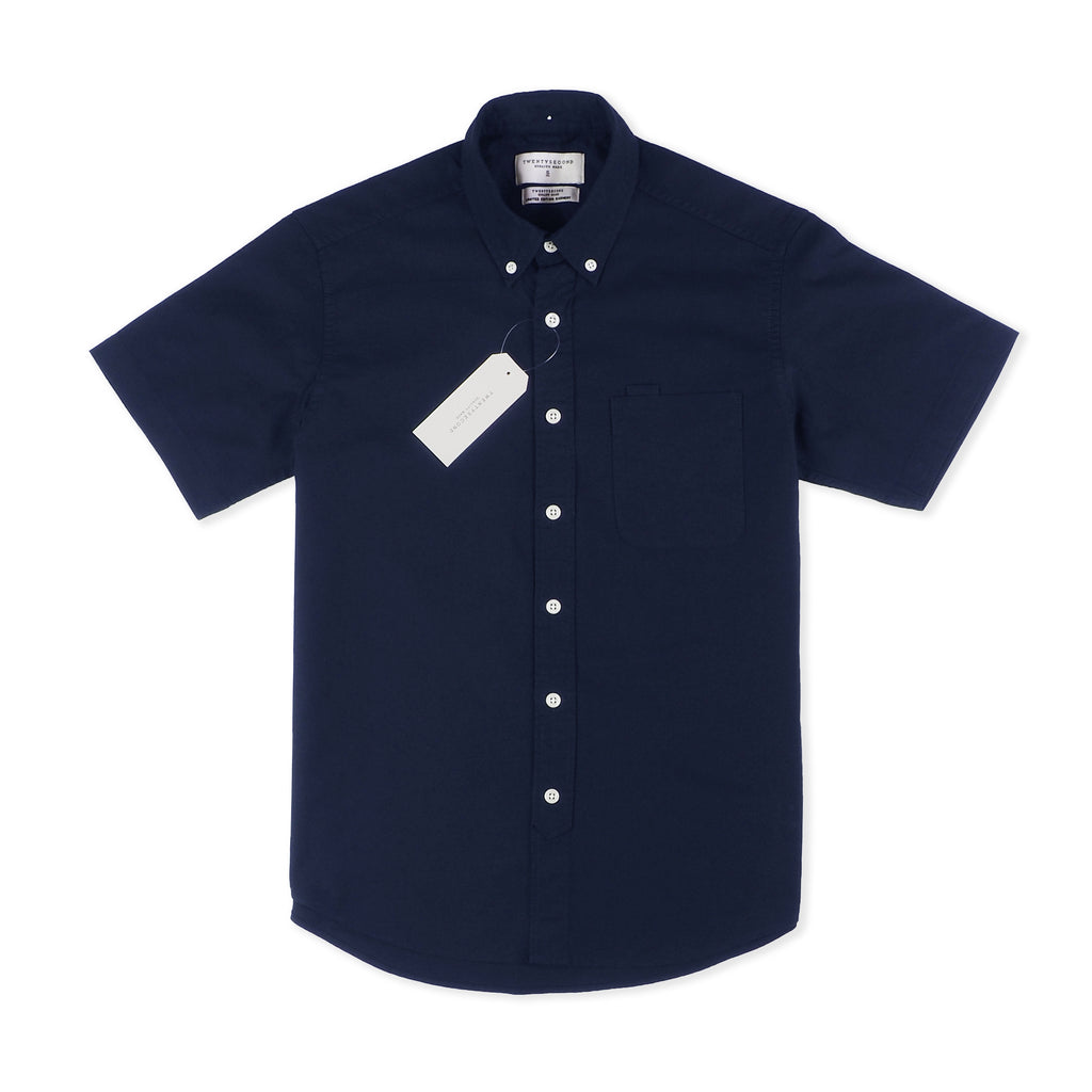 OXFORD SHORT SLEEVES - NAVY
