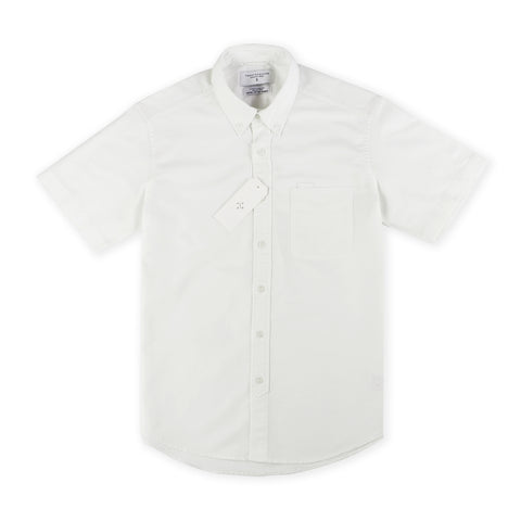 OXFORD SHORT SLEEVES SHIRT - WHITE