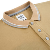 Signature Polo Tees-Khaki