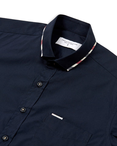 FLAG SHIRT - DARK BLUE