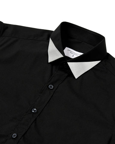 TRIANGLE SHIRT - BLACK