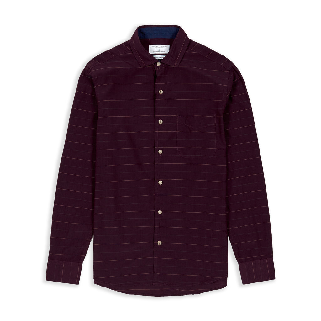 SQUARE SHIRT - MAROON