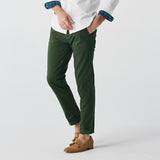 TAGGING CHINO PANTS-GREEN