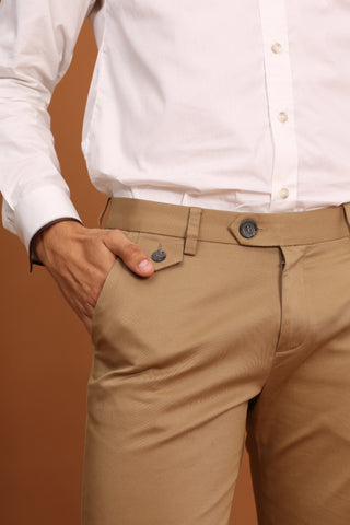 RUST CHINO PANTS-GOLDEN