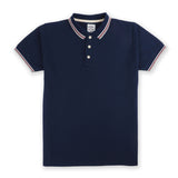 The Signature Polo tees-Flag Navy