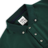 BASIC POLO TEES - DARK GREEN