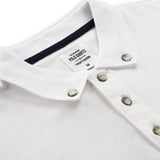 BASIC POLO TEES - WHITE