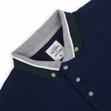 BROOK POLO TEES -NAVY