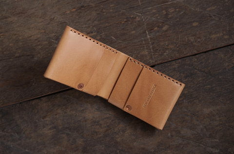 Stitchless wallet - Natural color