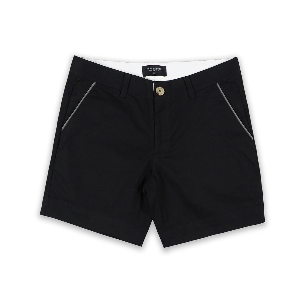 PORT SHORTS BLACK