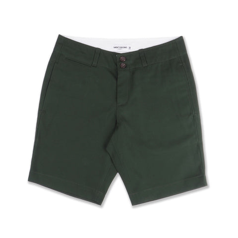 REGULAR CHINO SHORTS #02 OLIVE