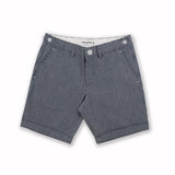 BRUSHED CHAMBREY STRIPE EXTRA SHORTS