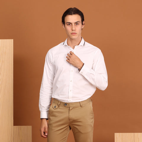 LATTE SHIRT WHITE
