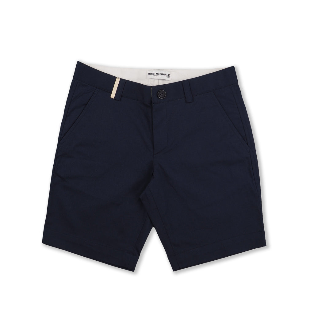 TWICE NAVY REGULAR SHORTS