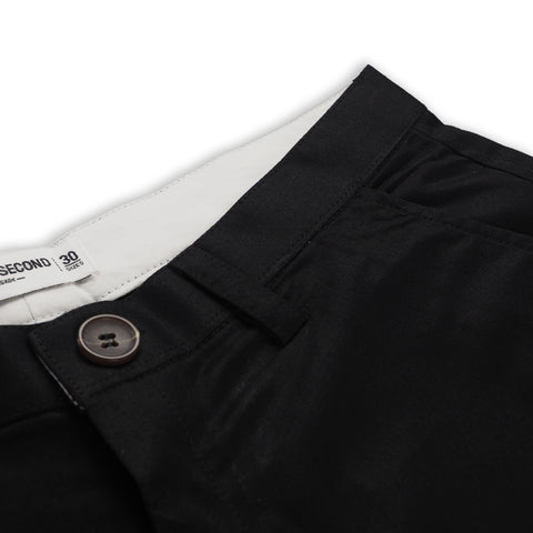EXTRA SHORTS PLAIN - BLACK