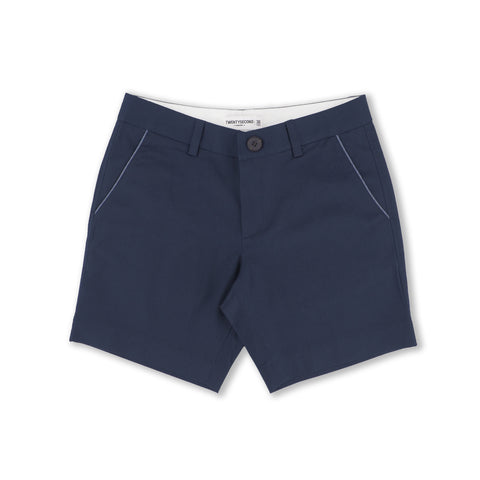 EXTRA SHORTS NAVY STRIPE