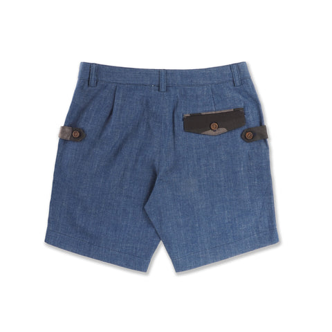 DENIM MEDIUM EXTRA SHORTS